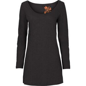 RAINBOW Longshirt in schwarz (Rundhals) für Damen von bonprix