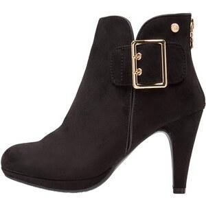 XTI High Heel Stiefelette black