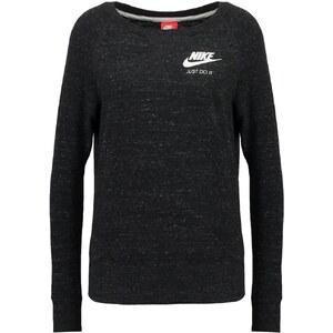 Nike Sportswear GYM VINTAGE Sweatshirt noir / blanc
