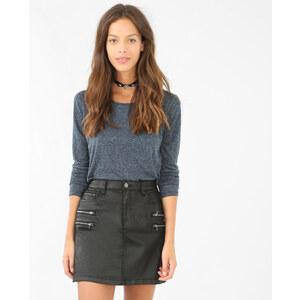 T-shirt basique bleu marine, Femme, Taille L -PIMKIE- MODE FEMME