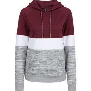 RAINBOW Sweat-shirt à rayures color block gris manches longues femme - bonprix