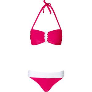 BODYFLIRT Bandeau Bikini (2-tlg. Set) in pink für Damen von bonprix