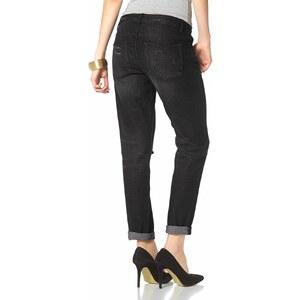 Laura Scott Boyfriend-Jeans mit verzierter Coinpocket
