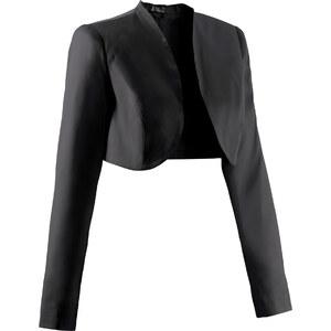 bpc bonprix collection Umstandsmoden-Bolero langarm in schwarz für Damen von bonprix
