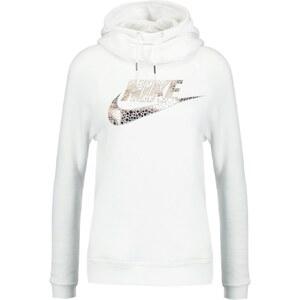 Nike Sportswear Sweat à capuche white/wolf grey/metallic red bronze