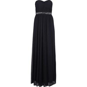 Mariposa Abendkleid mit Knoten-Detail und Ziersteinen