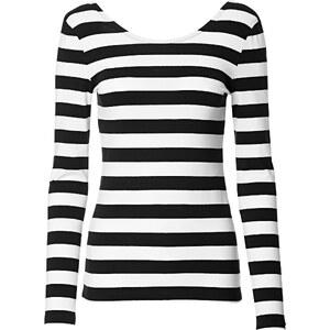 RAINBOW Langarm-Shirt in schwarz für Damen von bonprix