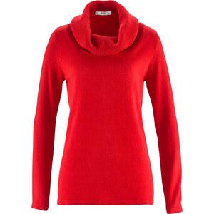 bpc bonprix collection Pullover, Langarm in rot für Damen von bonprix