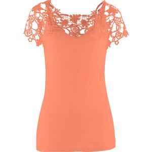 bpc selection Shirt figurbetont in rot (V-Ausschnitt) für Damen von bonprix