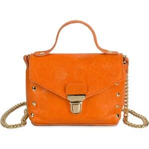 Morgan Besace en cuir - orange