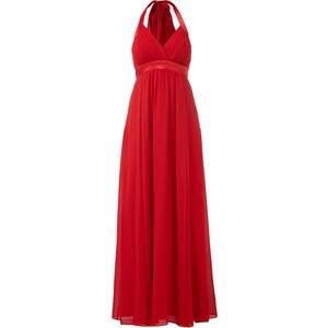 Damiani Abendkleid aus Chiffon mit Neckholder zum Binden