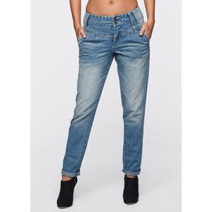 RAINBOW Capri-Jeans in schwarz für Damen von bonprix