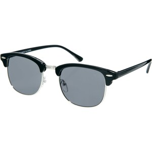 ASOS - Classic - Retro-Sonnenbrille - Schwarz