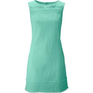 Kleid ohne Ärmel in blau (Rundhals) von bonprix