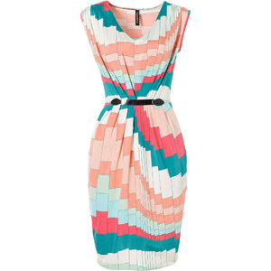 RAINBOW Shirt-Kleid/Sommerkleid ohne Ärmel in blau von bonprix