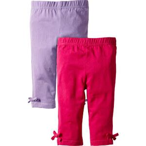 bpc bonprix collection 3/4 Leggings (2er-Pack) in pink für Mädchen von bonprix