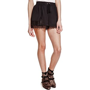 Marks and Spencer Limited Edition – Shorts mit Blumenspitze