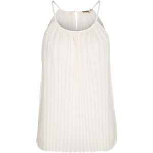 ONLY CLARISE Bluse whisper white