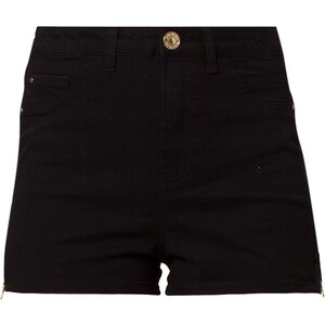 River Island PIN UP Jeans Shorts black
