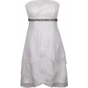 Fashionart Cocktailkleid / festliches Kleid offwhite