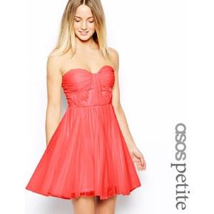 ASOS Petite ASOS - Trägerloses Kleid mit verdrehtem Oberteil - Creme 16,99 €