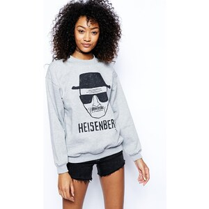 ASOS – Breaking Bad Heisenberg – Boyfriend-Sweatshirt mit Aufdruck