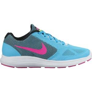 Dětské běžecké boty Nike REVOLUTION 3 (GS) GAMMA BLUE PINK BLAST-BLCK-WHT -  Glami.cz 192e514fe7