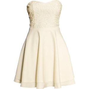 H&M Besticktes Bandeau-Kleid