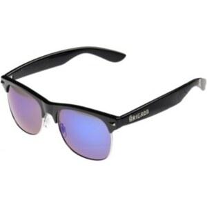 BRIGADA Midtown Sunglasses black/blue mirror lens