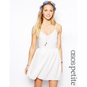 ASOS PETITE - Exklusives, strukturiertes Sommerkleid mit Karomuster - Rosé 22,99 €