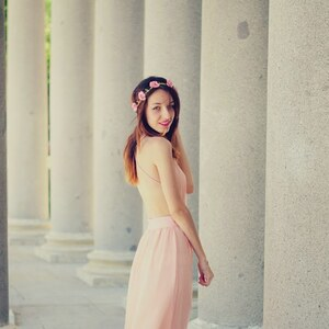 Look Peach V -DRESS von Vivian-Sheinside Look