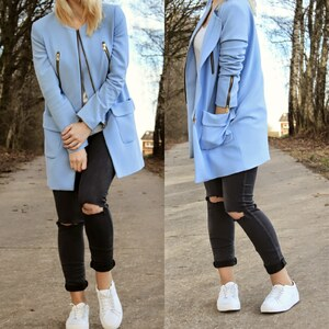 Look BLUE COAT von BBfoxy