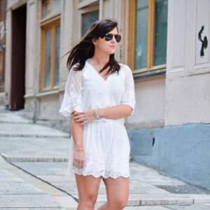 Look de All White à modeusement-votre €