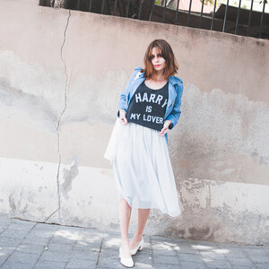 Look de Le perfecto bleu. à natacha-birds €