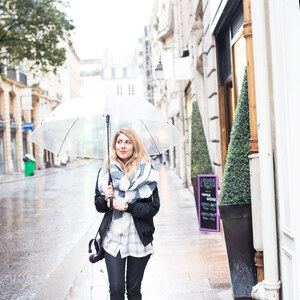 Look de Sous la pluie à pinketcetera €
