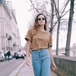 Look de Mom jeans à larevuedekenza €