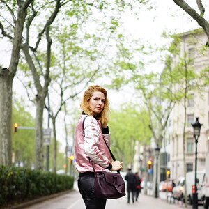 Look de (Français) Black and pink à estelleblogmode €