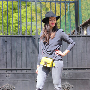 Look de Touch of yellow à lestendancesbymarin €