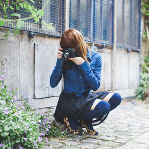 Look de Photographier léger à leblogdelamechante €