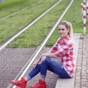 Look Rote Schuhe – No go or big love? von Nicky