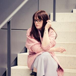 Look rosa und grau von Fanine.de