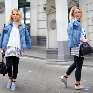 Look OUTFIT: All About Denim with See by Chloé and Goertz von lillycalling