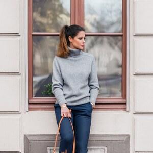 Look Outfit: Ombre Hair & Bucket Bag von shoplemonde
