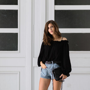 Look Easy Summer Off-Shoulder Look for Every Day von simple-et-chic