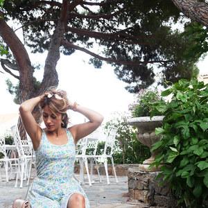 Look de La robe liberty de chez Uniqlo à pinketcetera €