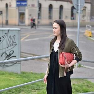 Look Kleid mit Spaghettiträgern von Krista - Fashion Blogger Domodi