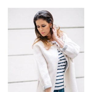 Look Shop the Look: White Bouclé von shoplemonde