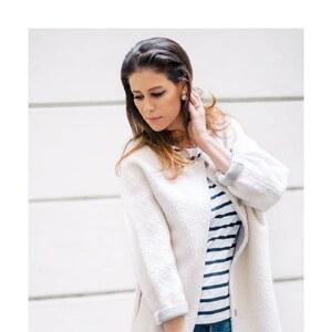 Look Shop the Look: White Bouclé von shoplemonde
