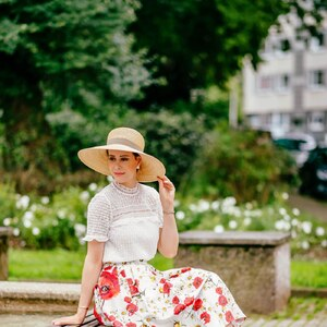 Look Shop the Post: The Perfect Floral Skirt von shoplemonde