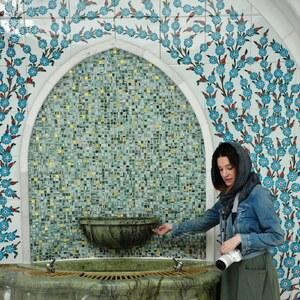 Look de Abu Dhabi : Cheikh Zayed Mosque à theycallmemellie €